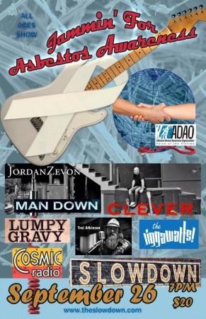 Jammin' Asbestos Awareness Concert