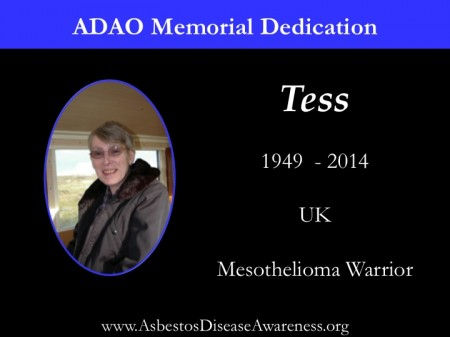 Dedication Tess Gully
