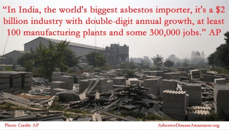 Asbestos in India AP
