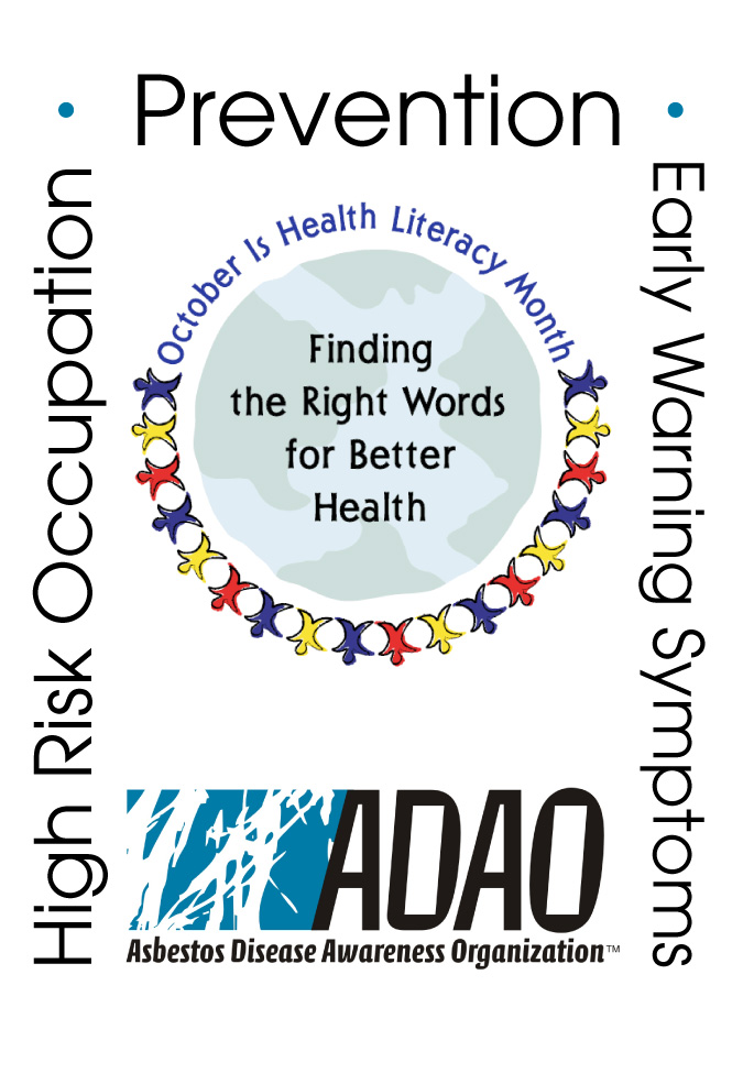 Monthly Calendar Health Awareness : October is health literacy month part one preventing