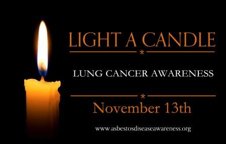 Lung Cancer Awareness Vigil