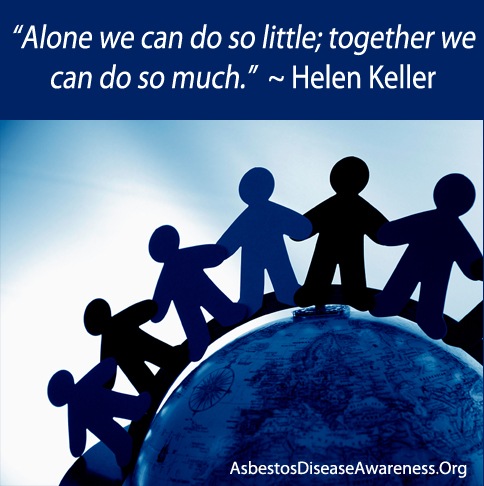 Alone We Can Do So Little Together We Can Do So Much Helen
