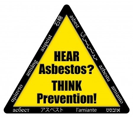Hear Asbestos Think Prevention