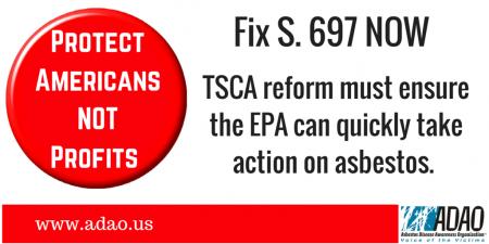 Fix TSCA Now