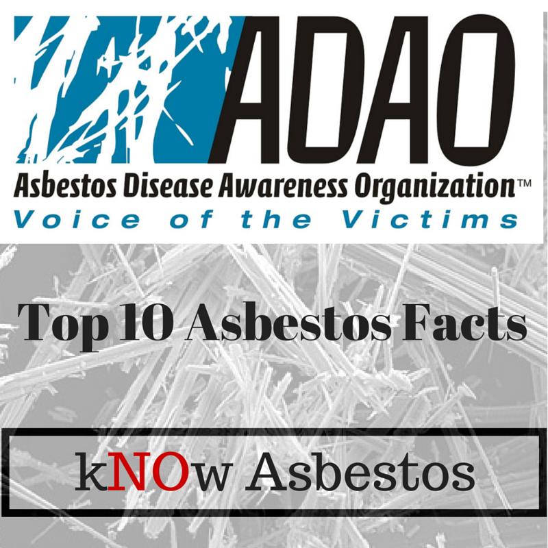 Top Ten Asbestos Facts (2015)