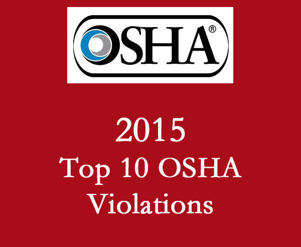 2015 Top 10 Osha Violations Adao Asbestos Disease