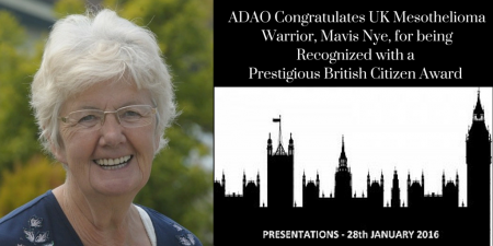Mavis Nye British Citizen Award CANVA