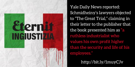 Asbestos case puts spotlight on Stephan Schmidheiny's honorary degree from Yale CANVA