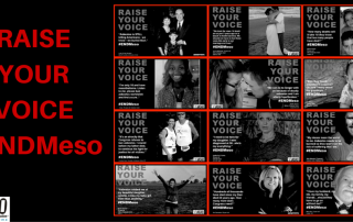 Raise Your Voice #ENDMeso