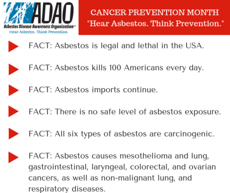 February is National Cancer Prevention Month: Take Action to