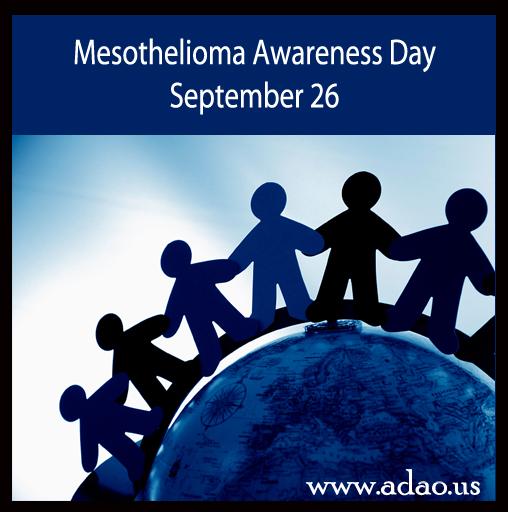Awareness day on september 26th adao asbestos disease awareness