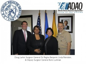 2012 ADAO Meeting with Surgeon General Benjamin and Deputy Surgeon General Lushniak
